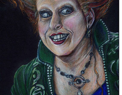 Winifred Sanderson portrait