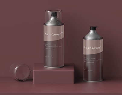 —Hairlover Bottle Mockup FREE