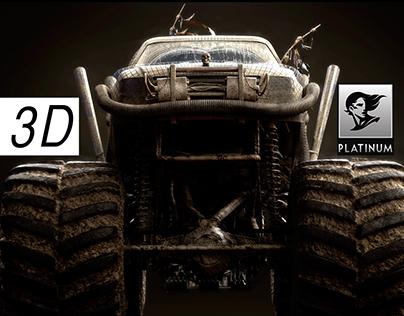 3D for Renault Duster - PLATINUM FMD - NeoGama/BBH