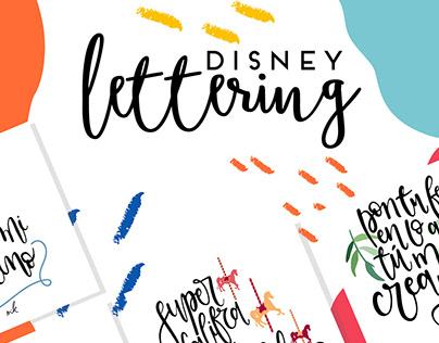 Lettering Disney
