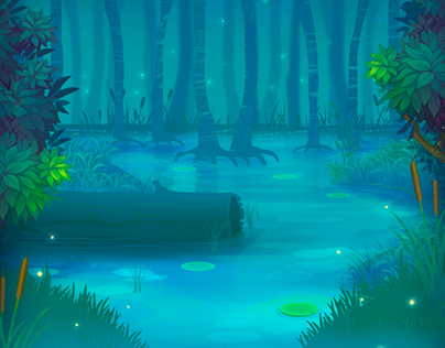 Background for mobile game.