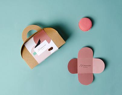 Nubamie – handcrafted macarons branding