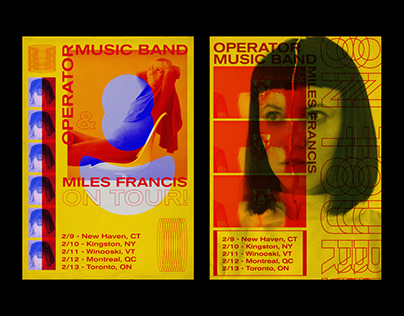 Operator Music Band Poster
