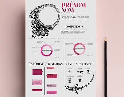 Pink CV