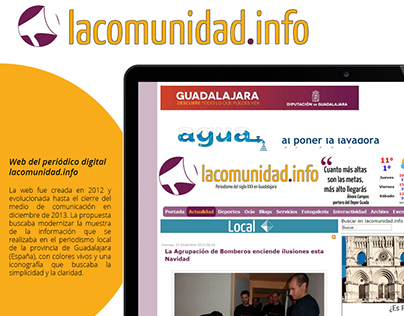 Página web lacomunidad.info