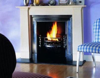 Decorating Fireplace Mantel California