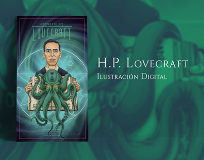 H.P. Lovecraft - Fanart