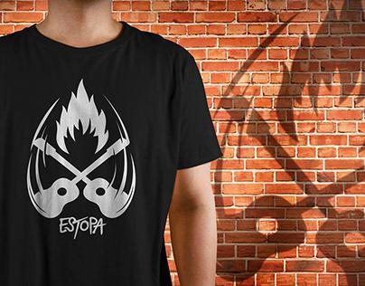 Camisetas ESTOPA GIRA FUEGO: Diseños exclusivos.