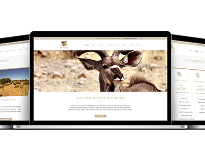 West Nest Lodge Website Makeover