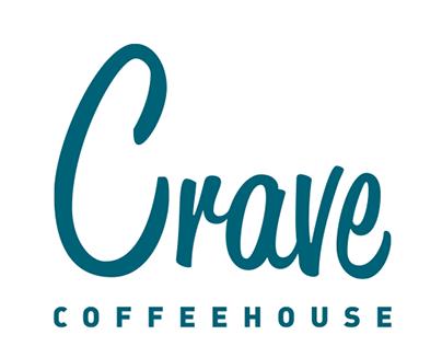 Crave Coffeehouse Re-branding