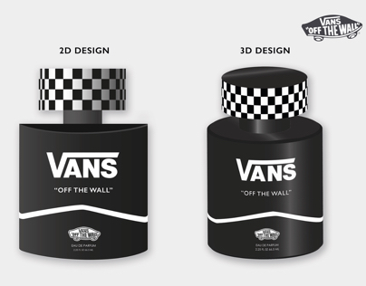VANS Fragrance Packaging