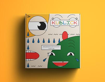 Детские кубики KUBLICK