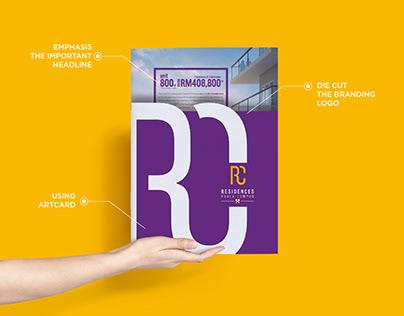 Brochure & Flyer design for RC Residences (Property)