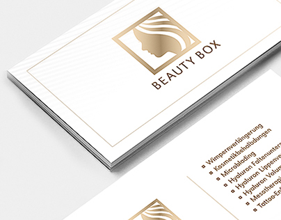 Beauty Box - logo and business cards
