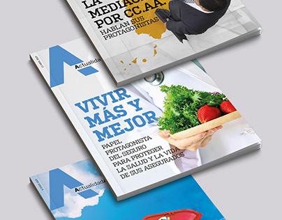 Covers de la Revista Actualidad Aseguradora