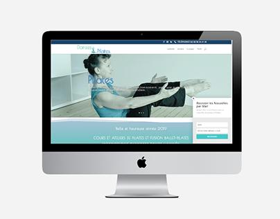 Site web Danses et Pilates