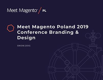 Conference Branding & Design - Meet Magento Poland