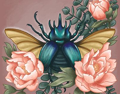 Beetle bouquet