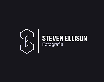 Identidade visual Steven Ellison Fotografia