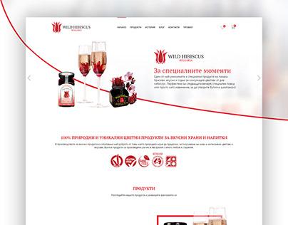 Wild Hibiscus Bulgaria website