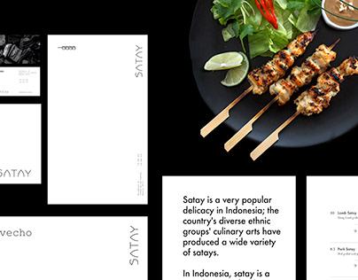 Satay - Indonesian Grill Restaurant Branding