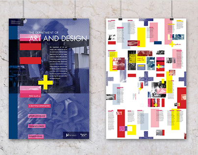 Art and Design Department Mailer