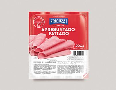 Embalagem - Apresuntado Fatiado Friguzzi