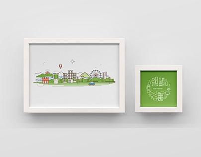 Smart City Illustrations