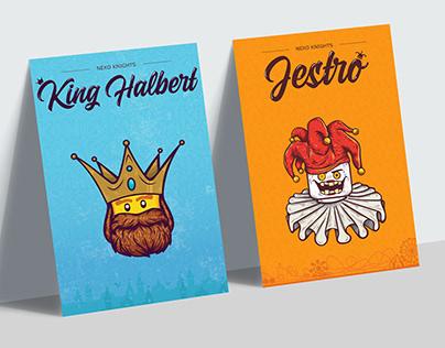 Lego Nexo Knights: Jestro & King Halbert Illustration