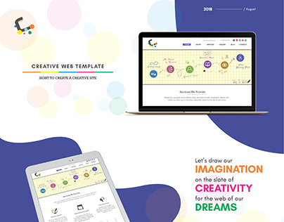 Creative Business Web Template Design