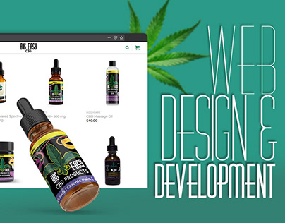Web Design & Development - Big Easy CBD
