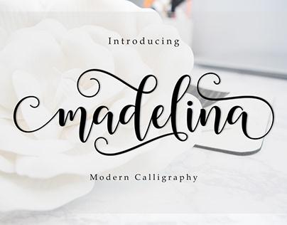Madelina Modern Calligraphy