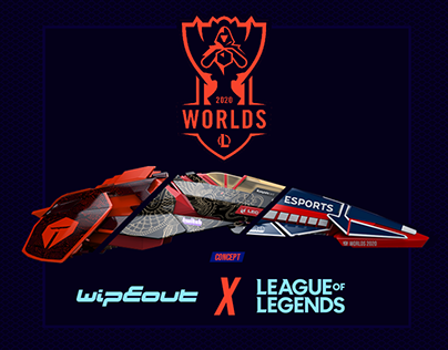 WORLDS LOL 2020 X WIPEOUT