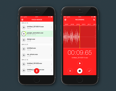 VOICE MEMOS Apps