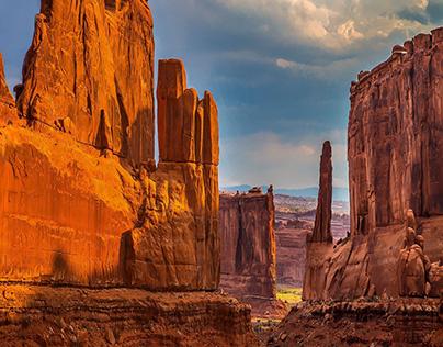 Grand Canyon Digital Illustration