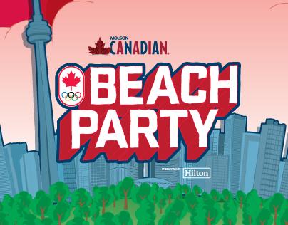 2016 Team Canada Beach Party