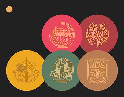 Tithi-Cha-Yog | Invite Design