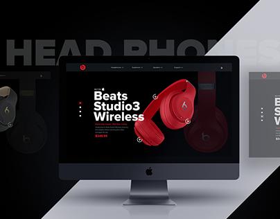 Beats Studio3 Redesign