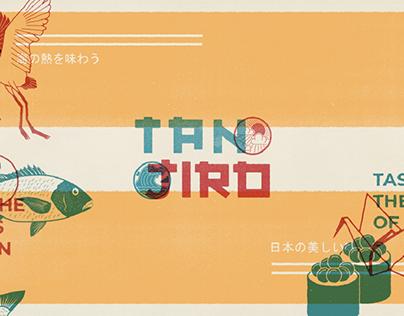 TANJIRO Japanese Restaurant Branding