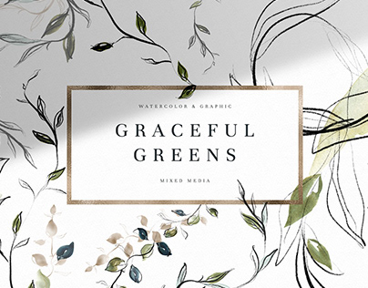 Graceful Greens. FREE BRANCHES