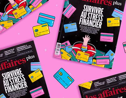Editorial Illustration - Les Affaires