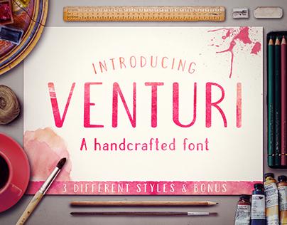Venturi Typeface