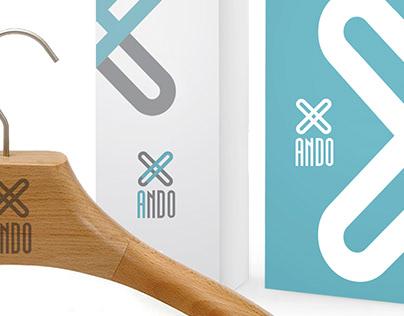 identity logo ANDO