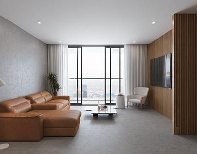 Minimalist Apartment Interior Design | HCMC Vietnam