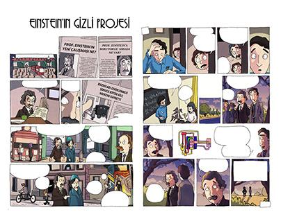 Science Comic: Einstein's Fridge