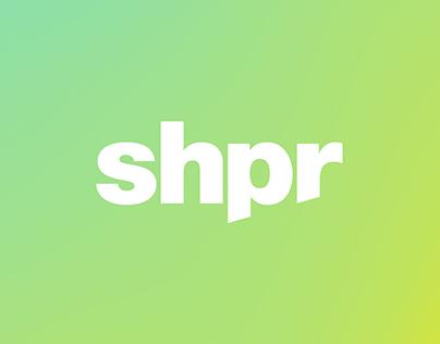 shpr Branding + Digital Exploration