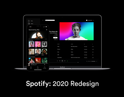 Spotify: 2020 Redesign