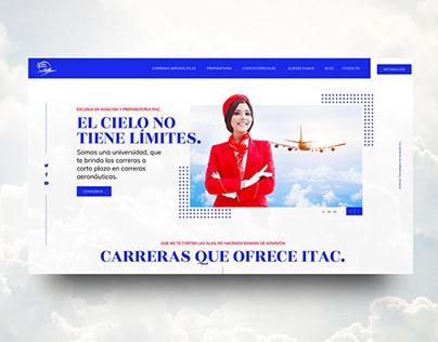 Propuesta web ITAC