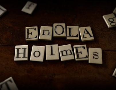 Enola Holmes // Titles & Graphic Sequences