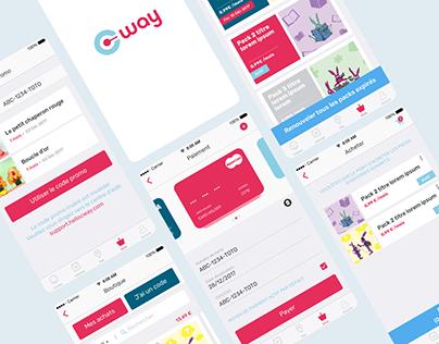 Assistant connecté, design site et application mobile